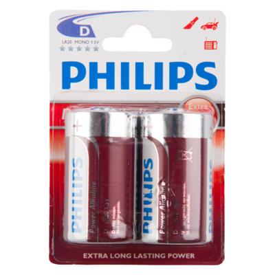 Philips Batterijen powerlife D