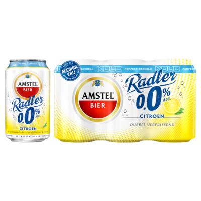 Amstel Radler 0.0% Koud Bier Blikken