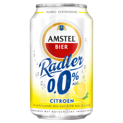 Amstel Radler lemon citroen 0.0%