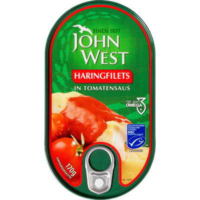 John West Haringfilets in tomatensaus