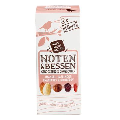 Nuts about nature Noten & bessen geroosterd en ongezouten