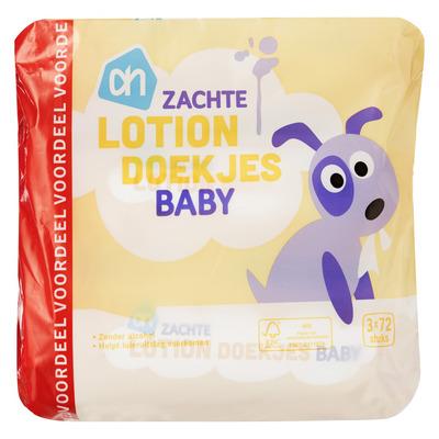 Huismerk Zachte lotion doekjes baby