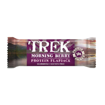 Trek Morning berry protein flapjack gv