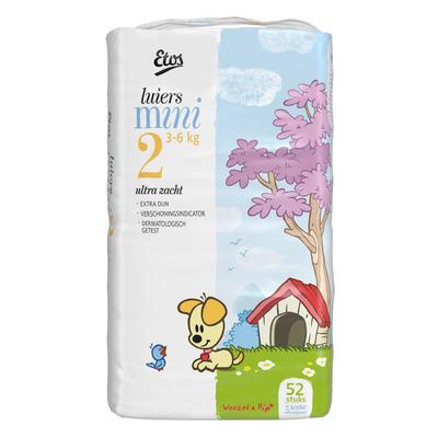 Huismerk Luiers maat 2 (mini) 3-6 kg