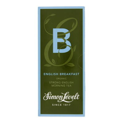 Simon Lévelt Theebuil english breakfast bio 1-kops