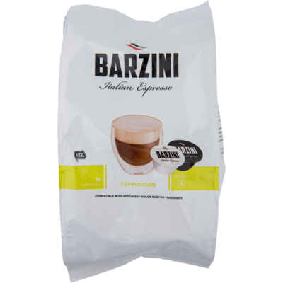 Barzini Cappuccino cups intensity sterkte 5
