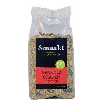 Smaakt Granola granen noten bio