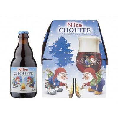 La Chouffe N'ice donker winterbier pak