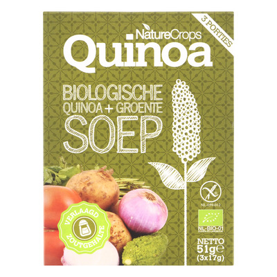 Nature Crops Quinoa vegetable soup bio