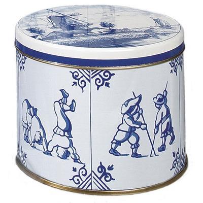 Rosenberg Stroopwafels in Delfts blauw blik