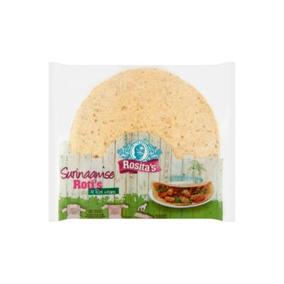 Rosita's Surinaamse Roti's 4 Stuks