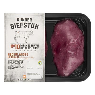 Huismerk Nederlandse biefstuk, 2 stuks