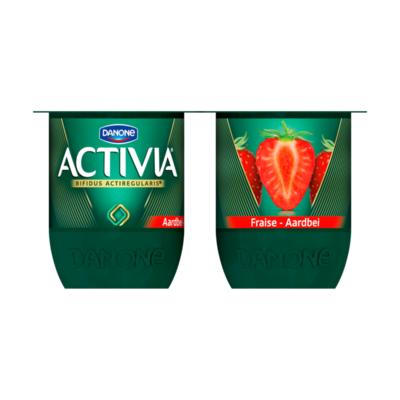Activia Aardbei