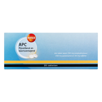 Roter APC 250/250/50 mg tabletten