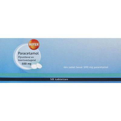 Roter Paracetamol 500 mg tabletten
