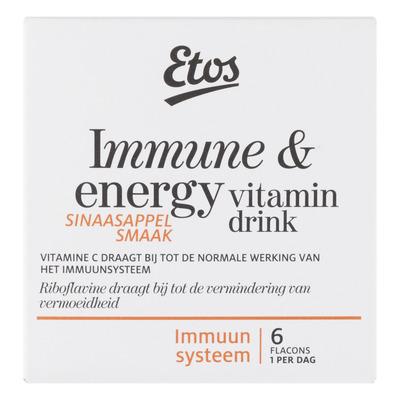 Huismerk Immune & energy vitamin drink flacons
