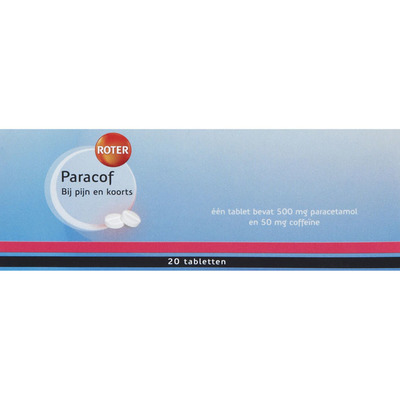 Roter Paracof 500/50 mg tabletten
