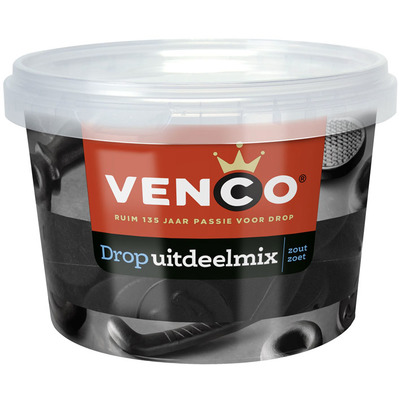 Venco Drop uitdeelmix zout zoet