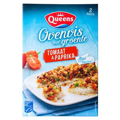 Queens Ovenvis tomaat-paprika