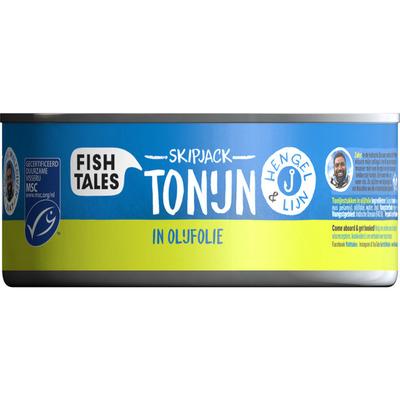 Fish Tales Skipjack tonijn olijf