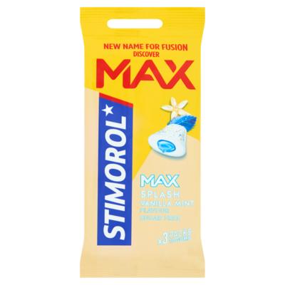 Stimorol Max Splash Vanilla Mint Flavour Sugar Free 3 x 22 g