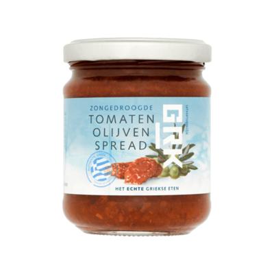 GRK Zongedroogde Tomaten Olijven Spread