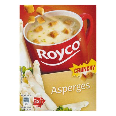 Royco Minute Soup crunchy asperge