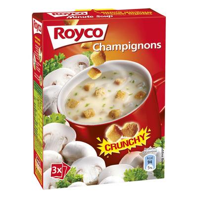 Royco Minute Soup crunchy champignon