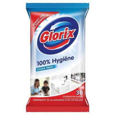 Glorix allesreiniger hygiënische doekjes ocean fresh