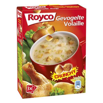 Royco Minute Soup crunchy gevogelte