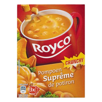 Royco Minute Soup crunchy pompoen