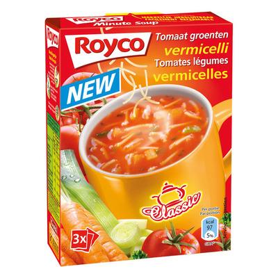 Royco Minute Soup tomaat/ groente/ vermicelli