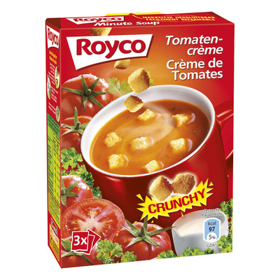 Royco Minute Soup tomaten-creme