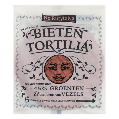 No Fairytales Bieten tortilla wrap