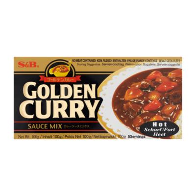 S&B Golden Curry Sauce Mix Heet