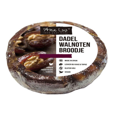 Ana Luz Dadelbrood met walnoot