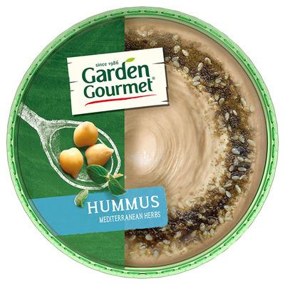 Garden Gourmet Hummus Mediterranean herbs