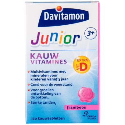 Davitamon Kauwvitamine framboos