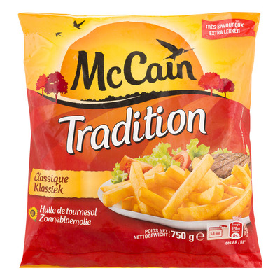 McCain Tradition frites