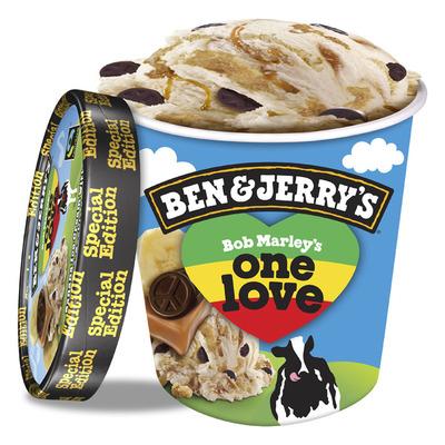 Ben & Jerry's Bob Marley's one love