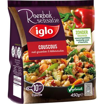 Iglo Roerbaksensatie couscous
