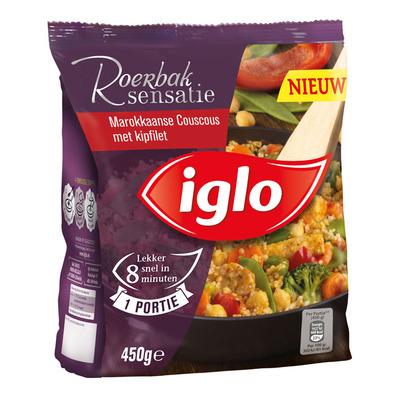 Iglo Roerbaksensatie Marokkaanse couscous