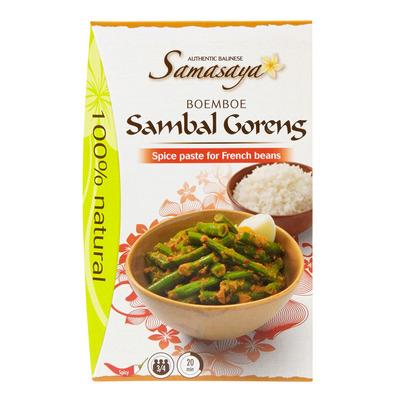Samasaya Boemboe sambal goreng