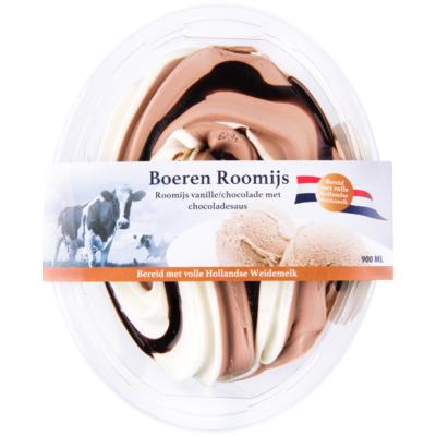Primafrost Boeren roomijs vanille chocola