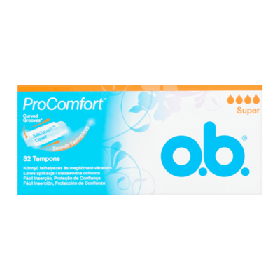 O.B. Tampons Super ProComfort