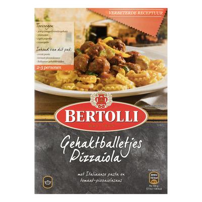 Bertolli Maaltijdpakket gehaktballetjes pizzaiola
