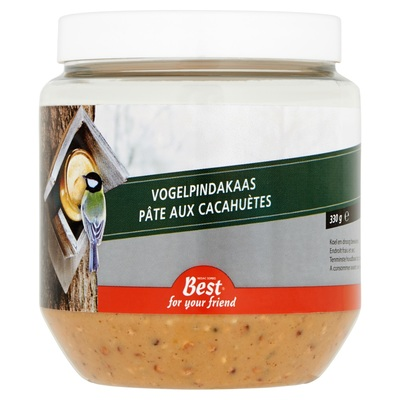 Best For Your Friend Vogelpindakaas 330 g