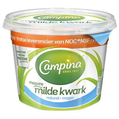 Campina Magere milde kwark naturel