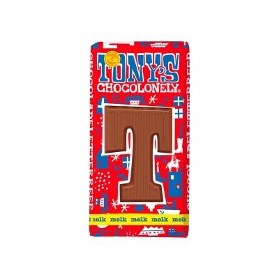Tony's Melkchocolade letterreep t
