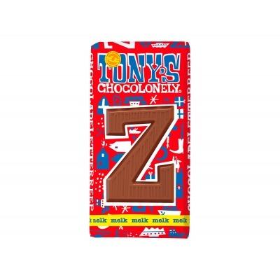 Tony's Melkchocolade letterreep z